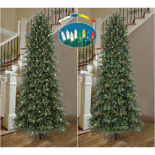 Ge Artificial Christmas Trees 9 ft brighton pencil artificial christmas tree with 500 clear