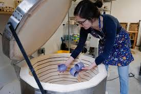 100 Munoz Studio Video Mercedes Muoz Readies Her Ceramic Work For First