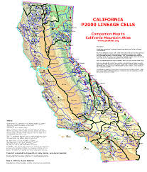 Ca Pcellmap Outline Map With Where Is Mount Whitney On The California