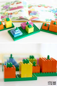 Spookley The Square Pumpkin Activities For Kindergarten by Lego Spookley Pumpkin Stem Activity Little Bins For Little Hands