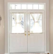Front Door Side Window Curtain Rods by Front Doors Outstanding Front Door Curtain For Your Home Door