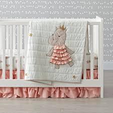 Woodland Crib Bedding Sets by Girls Crib Bedding Sets The Land Of Nod