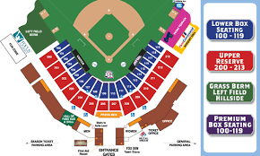 Seating Chart and Box fice Info