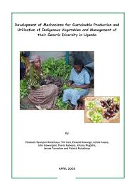 Types Of Pumpkins Grown In Uganda by Mechanisms For Sustainable Vegetable Production And Utilisation Of
