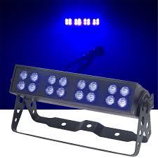American DJ UVLED BAR16 DMX LED UV Black Light Bar