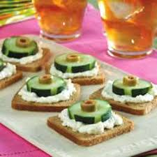 cucumber canapes cucumber olive and rye canapes recipe all recipes uk