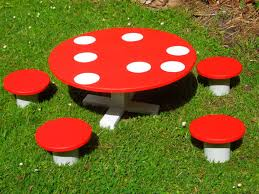 Niacan Wood Crafts Garden Furniture Toadstool Table And Chairs Red Toadstool Table Masquespacio Designs Adstoolshaped Fniture For Missana Mushroom Kids Stool Uncategorized Chez Moi By Haute Living Propbox Event Props Fniture Hire Dublin How To Make A Bistro Set Garden In Peterborough Swedish Woodland Robins Floral Side Magentarose Toadstools Fairy Garden
