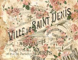 Items Similar To Printable 300dpi Shabby Wallpaper Antique Paris Parisian Galerie