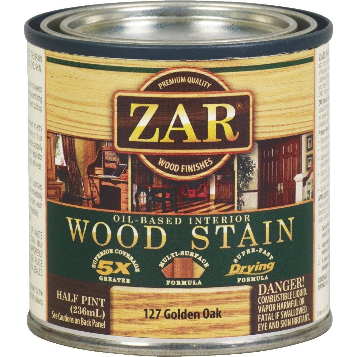 United Gilsonite Zar Oil Based Wood Stain - 127 Golden Oak