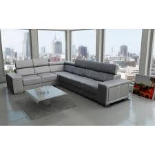 divan canapé canapé d angle reversible donatello togo 8 gris sofa divan achat