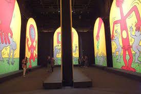 musee d modern de la ville de keith haring retrospective musée d moderne centquatre