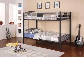 Bedroom Cool Bunk Beds For Teens Features Black Twin Bunk Bed