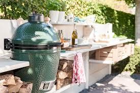 außenküche genussvoll draußen kochen schöner wohnen
