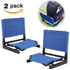 Buy 2x Padded Stadium Chair Seat Cushion Bleacher Folding ... Recling Stadium Seat Portable Strong Padded Hitorhike For Bleachers Or Benches Chair With Cushion Back And Armrest Support Pnic Time Oniva Navy Recreation Recliner Fayetteville Multiuse Adjustable Rio Bleacher Boss Pal Green Folding Armrests 7 Best Seats With Arms 2017 The 5 Ranked Product Reviews Sportneer Chairs 1 Pack Black Wide 6 Positions Carry Straps By Hecomplete Khomo Gear And Bench Soft Sided