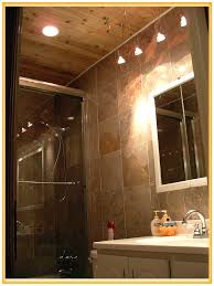 Rustic Cabin Bathroom Lights by Extraordinary 20 Diy Led Bathroom Lighting Design Decoration Of