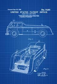 Fire Truck Patent 1939 – Patent Prints, Wall Decor, Fireman Gift ...