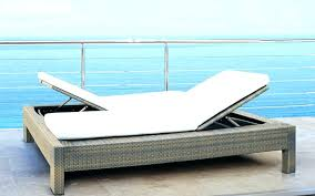 Deck Chaise Lounge Mezzo Outdoor Double Choose Pertaining To Patio Sale Decor Lounger Wicker Bar Adorable Furniture