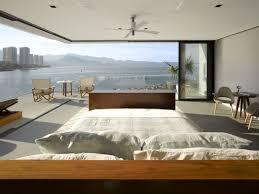 chambre avec vue maison neuve avec vue sur l eau à l architecture inspirée des