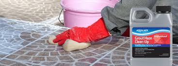 Removing Grout Haze From Porcelain Tile by Grout Haze Clean Up Aqua Mix Australia Official Site