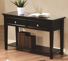 Sofa Tables At Walmart by Sofa Table With Drawers In Espresso Finish U2013 Kb Home Furnishing