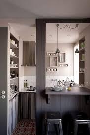 cuisine et maison cuisine et salon dans la meme mineral bio