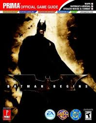 Batman Begins Prima Official Game Guide