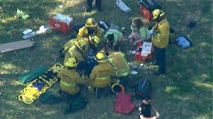 Pumpkin Patch Pasadena by Kids Rescued After Tree Falls Near Kidspace Children U0027s Museum In