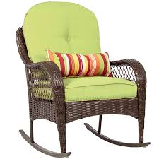 Buy DzVeX Wicker Rocking Chair Patio Porch Deck Furniture Weather ... Havenside Home Chetumal Blue Cushion Folding Patio Rocking Chairs Set Of 2 Fniture Antique Chair Design Ideas With Walmart Swivel Rocker And Best 4 Adorable Modern All Weather Porch Outdoor Sling Teal Garden Ouyeahco Outsunny Table Seating Grey Berlin Gardens Resin Jack Post Knollwood Mission In White Details About Childrens Kids Oak Wood New 83 Ideal Gallery Ipirations For Lugano Portside Plantation 3pc