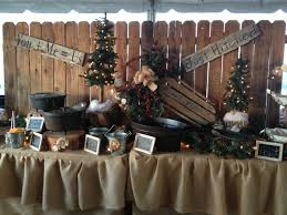 Rustic Wedding Decor For Food Table I Am Not Getting Married But LOVE THIS