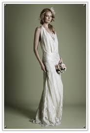 Low Slung Waist 1920s Style Wedding Dress