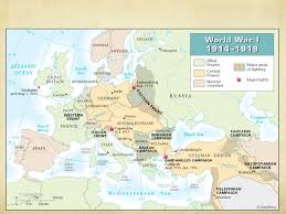 Where Did The Lusitania Sink Map by World War I U201chow Did A Single Shot From An Unknown Student