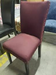 Wine Red Accent Chair – Total Corporate Services