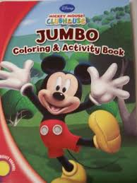 Buy Disney Mickey Mouse Clubhouse Jumbo Coloring Amp Activity Book A Fun Time 144 Pages In Cheap Price On Malibaba