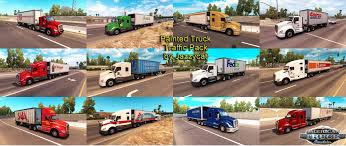 Painted Truck And Trailers Traffic Pack By Jazzycat V1.0 • ATS Mods ... Sioux City Truck Trailer North American And Trailer Stock Image Image Of American Camping 3707471 Simulator Peterbilt 567 Rental Freightliner Doepker Dealer Saskatoon Frontline Painted Trailers Traffic Pack V14 By Jazzycat Ats Mods Michelin Tires For Trucks In Big Rig Truck Drive West Into The Sunset On 1934 Studebaker Semi Vintage Pinterest Without A Vector Images Of Any Size In V11 Eagles Modding Forums New