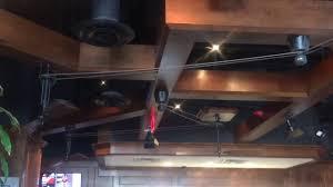 Belt Driven Ceiling Fan Motor by Fanimation Brewmaster Belt Drive Ceiling Fan Youtube