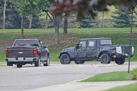 Spy Photos Reveal More About Jeep Wrangler Pickup » AutoGuide.com News 2018 Ram 1500 Vs Chevrolet Silverado Comparison Review By Jeep Vs Truck Off Road Bozbuz Dvetribe Toy Vs Real Monster Jeep Renzone Toys For Kids Youtube Offroad Society Lampe Chrysler Dodge Ram Visalia Ca New 2019 Wrangler Jt Pickup Truck Spotted Car Magazine Autv Page 2 Huntingnetcom Forums Bottomed Out Chevy Tug Of War At Warz 2015 View Pickup Confirmed Future Rival To The Ford Ranger Jeep Concept