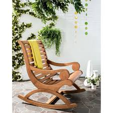 Garden Patio Rocking Chair With Table Relaxing Recliner Lounger ... Brown Plastic Patio Chairs Cool Round Wood Outdoor Ding Set Table Acacia Fniture Easy Jordan Us Leisure Resin Adirondack Chair In Modish Boardwalk 81 Luxurious Gallery For Stackable Pair Of Sculptural Alinum After Walter Lamb 38 Dark Wicker Of 4 Espresso Beautiful 1103design Ideas Pacific Whiskey Allweather Adjustable Chaise Lounger With Side 3piece