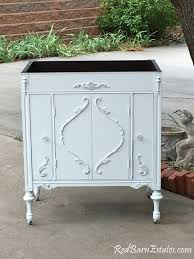 Shabby Chic White Bathroom Vanity by Bathroom Vanity Shabby Chic Bathroom Vanity Cabinet Converted From