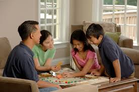 FileFamily Playing A Board Game 2
