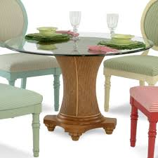 Braxton Culler Sofa Table by Braxton Culler Sawgrass Tropical Round Glass Table With Wicker