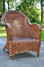 How To Repaint Wicker Furniture Redoing Wicker Patio Furniture