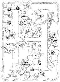 Fairy Alphabet 8 Is A Coloring Page From BookLet Your Children Express Their Imagination When They Color The Will