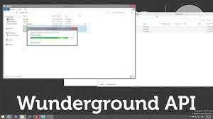 100 Wundergrou Nd Weather Underground Nd API Part 3