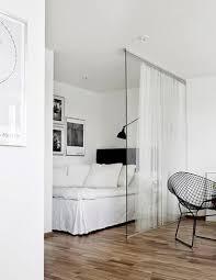 cloisons amovibles chambre cloison amovible sur rail avec rideaux suspendus pour chambre