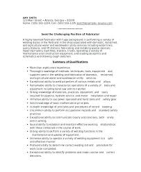 Sample Resume In Welder With Fabricator Free For Download Doc Produce