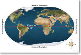 Image Is Loading Equator Geography World Map Classroom School NEW POSTER
