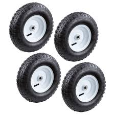 100 Hand Truck Tires Farm Ranch 13 In Pneumatic Tire 4PackFR1035 The Home Depot