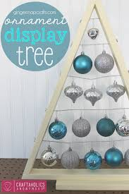 DIY Ornament Display Tree Tutorial This Is So Pretty Great Way To Ornaments