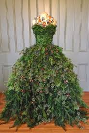 Christmas Tree Types Artificial by Custom Made Wire Dress Form Christmas Tree Local Chicago Area