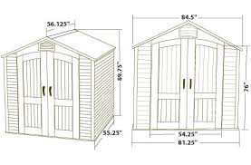Lifetime 15x8 Shed Uk by Summers Lifetime 15x8 Plastic Outdoor Storage Shed With Floor